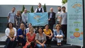 Reunião e formação de técnicos e parceiros do projeto no IPDJ