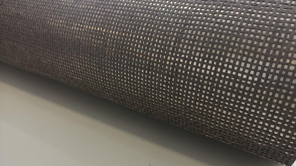 Metal Brown Weave
