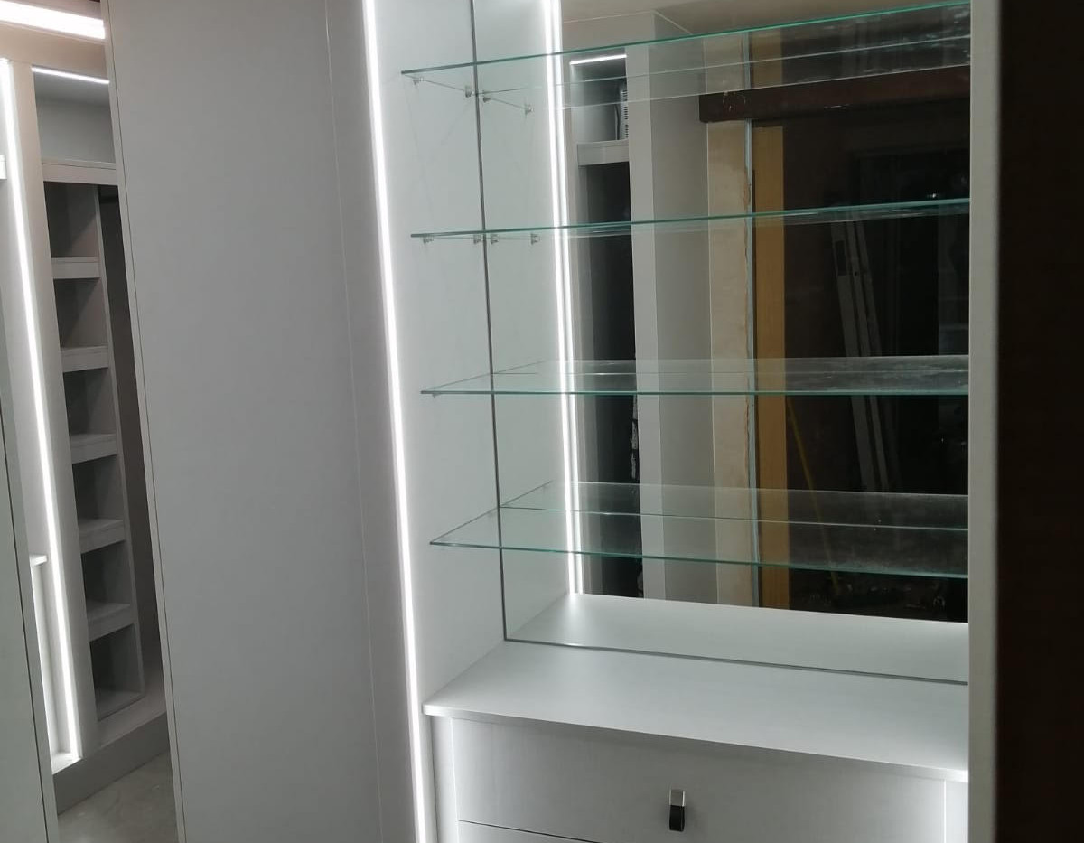 Mirrored Display Cabinet