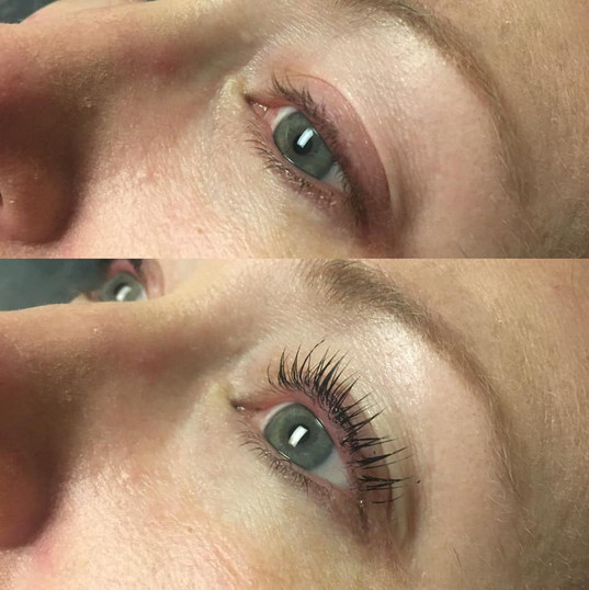 Lash Lift and Tint Before|After