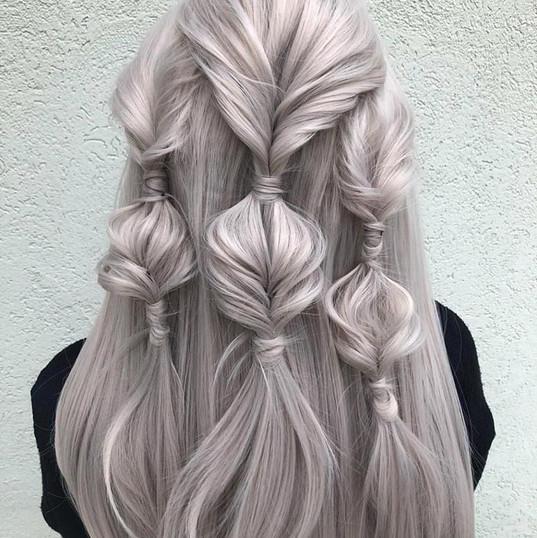 Braided Fashion Updo on Wig