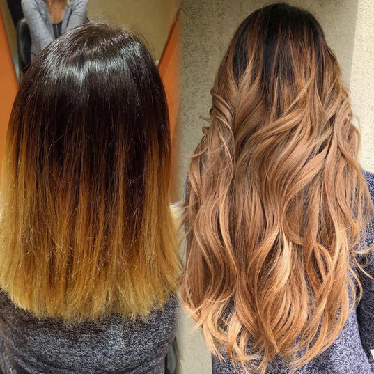 Extensions and Balayage