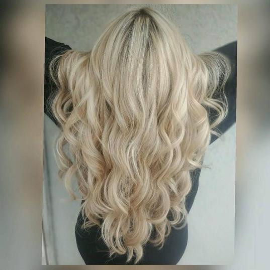 Long Blonde Full Highlight|Natural Length