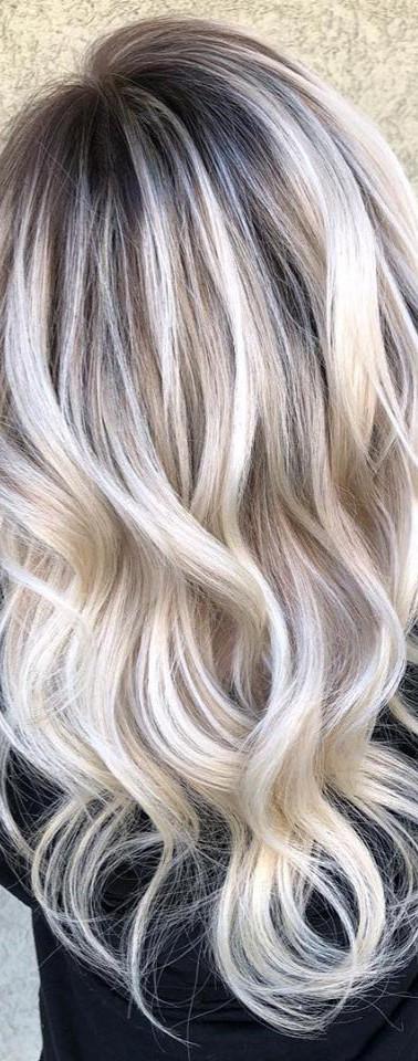 Bleach Blonde Balayage