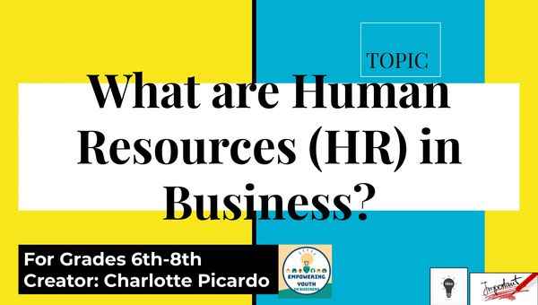'What are Human Resources In Business' f