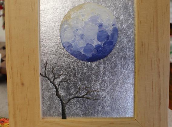 Foil painting.