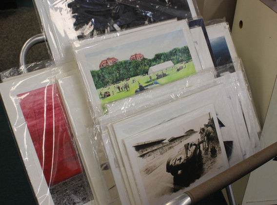Selection of prints.