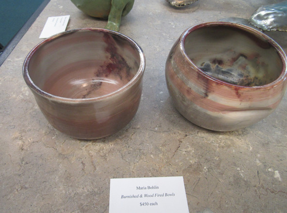 Colorful ceramic bowls.