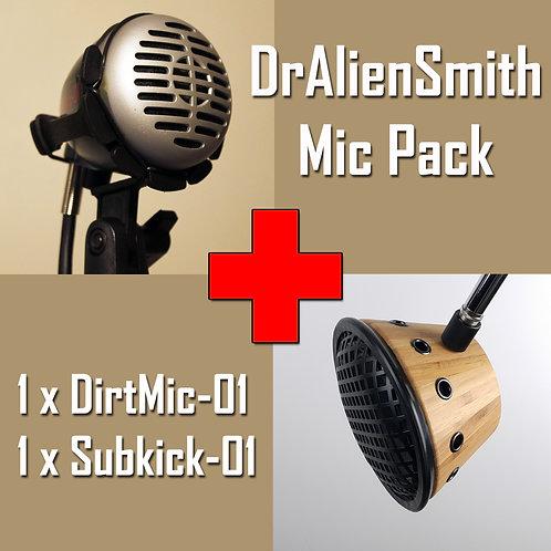DrAlienSmith Mic Pack, DirtMic-01 + Subkick-01