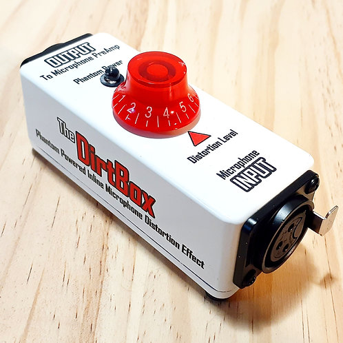 The DirtBox, a Phantom Powered Distortion Effect For Microphones