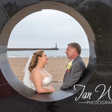 Sunderland Wedding Photographer-Roker Li