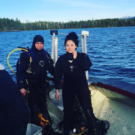 Meet Shaunna Echohawk: the Indigenous commercial diver and fisherwoman on the Discovery Channel