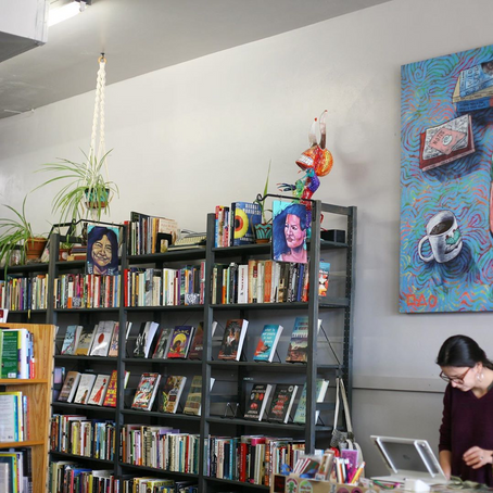Serendipity at Palabras Bookstore
