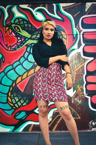 Maize Pencil Skirt