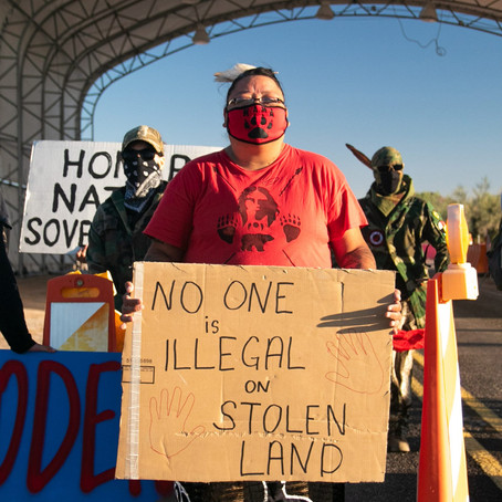 Two Land Protectors Wrongfully Arrested at Quitobaquito Springs