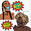 Thumbnail: Assorted Stickers+ Buttons