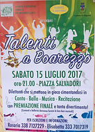 Talenti a boarezzo 15 luglio 2017 scusate il disturbo boarezzo