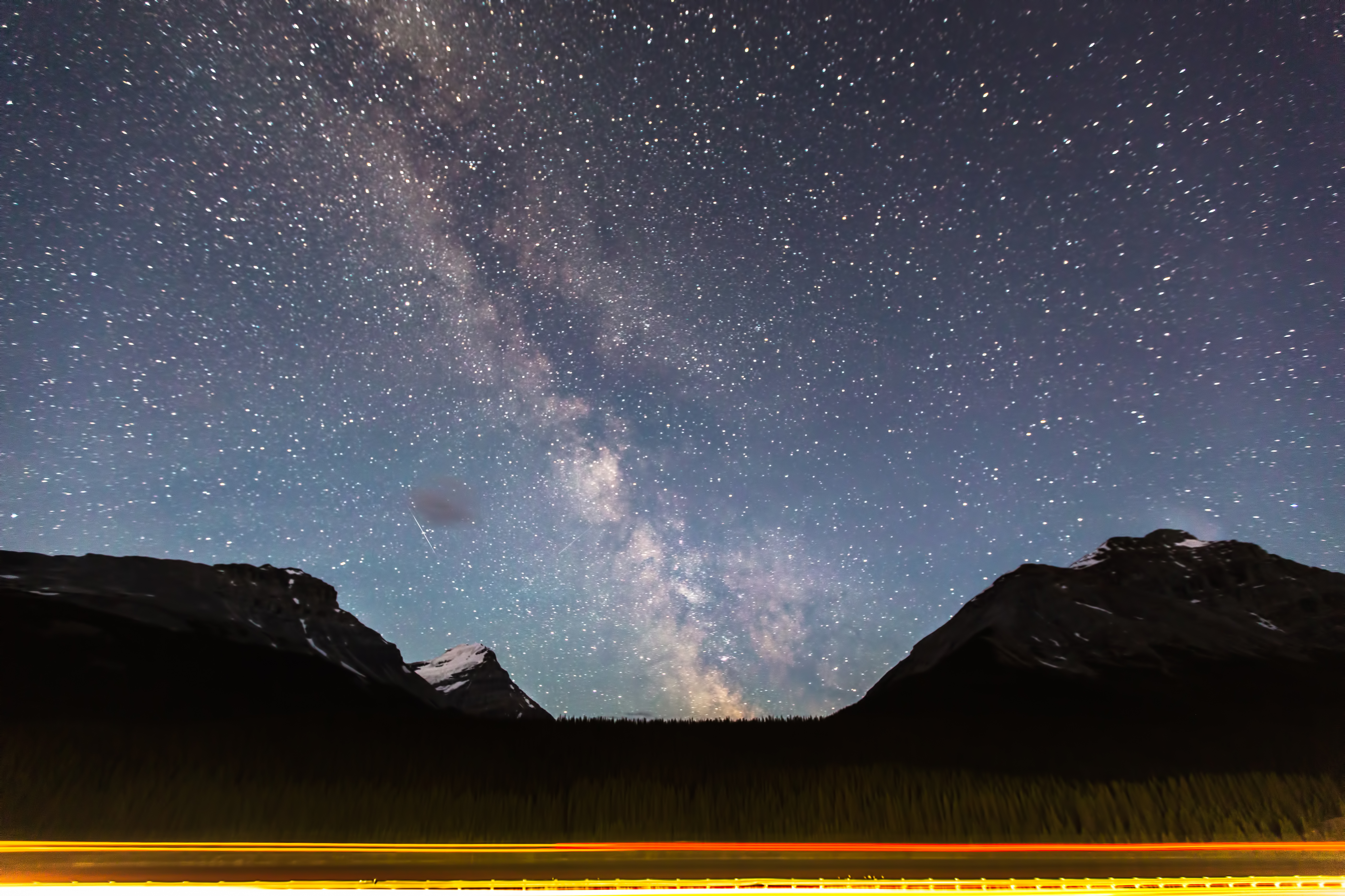 Continental Divide Milky Way