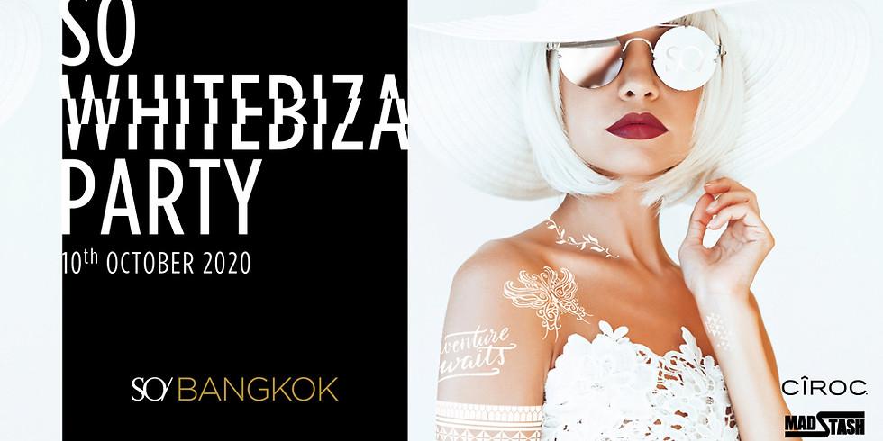 SO WHITEBIZA PARTY ★ Saturday 10 October 2020