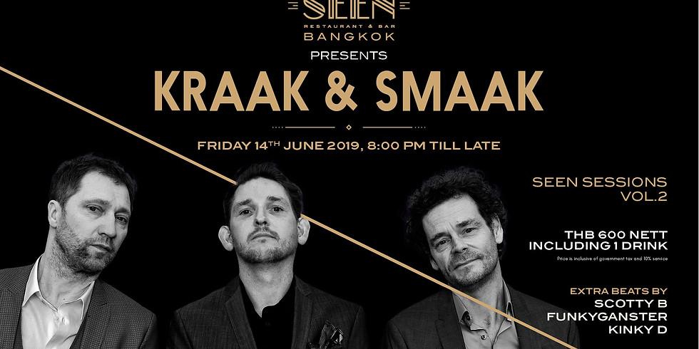 SEEN SESSIONS VOL.2 presents KRAAK & SMAAK 14 JUNE 2019