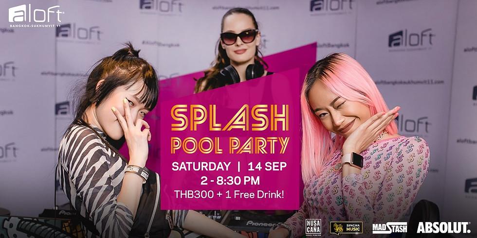 SPLASH POOL PARTY HIP HOP 14 SEPTEMBER 2019