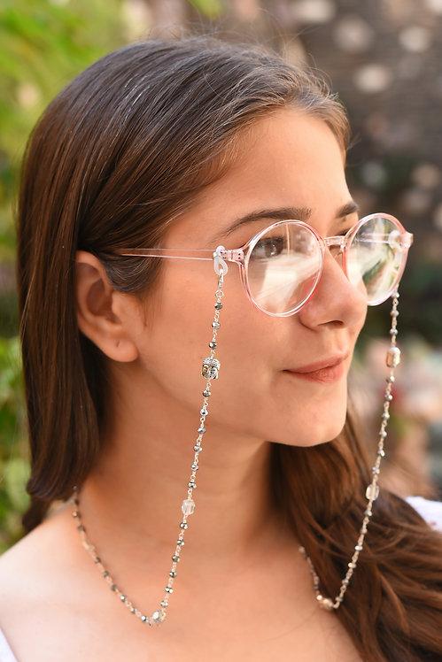 VISTA BUDDHA Metallic Beads Necklace/ Mask Chain/Eyeglass Chain