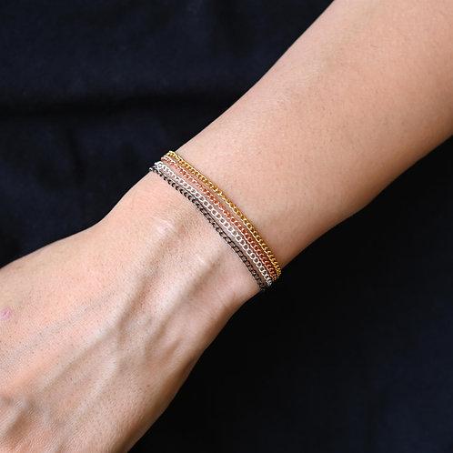 Multi-Color Chains Bracelet