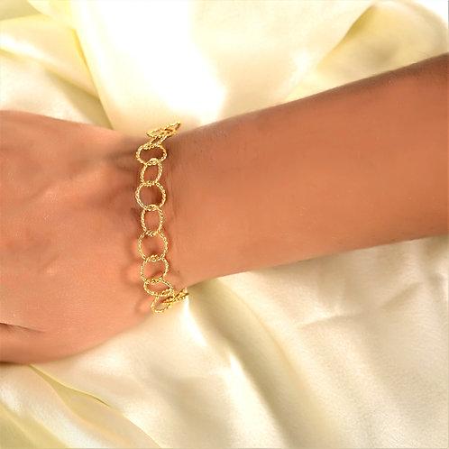 TWIST  Chain Golden  Bracelet