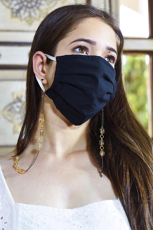 TWIST Champagne Peach Necklace/Mask/Eyeglass Chain