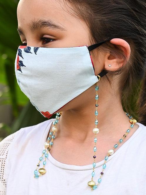 FASHIONISTA MARINA SHELL Necklace/Mask Chain/Eyeglass Chain -KIDS