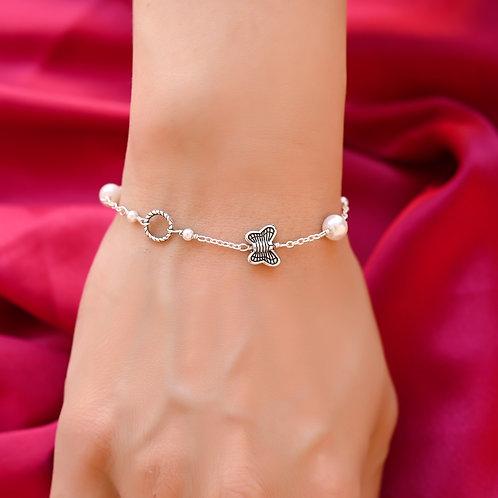 BUTTERFLY PEARL Bracelet