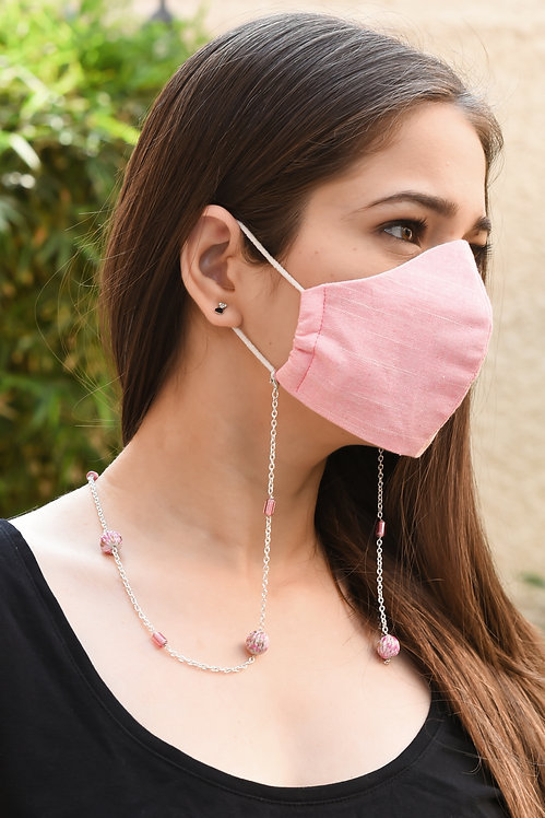 PAINT Pink Necklace/ Mask Chain/Eyeglass Chain