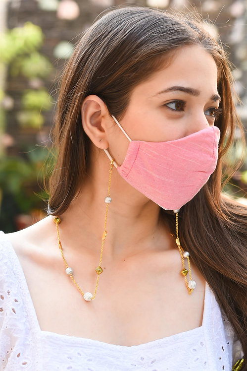 EXOTICA Accents GOLD Necklace/ Mask/Eyeglass Chain