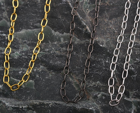 Unisex Link Mask/ Eyeglass Chain - Set of 3 (Gold, Silver, Black)