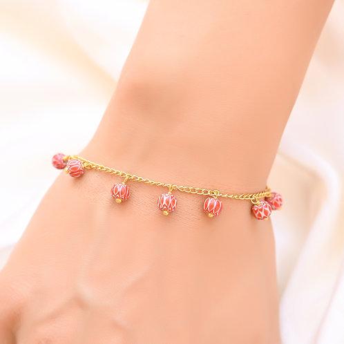 Chevron Beads  Bracelet