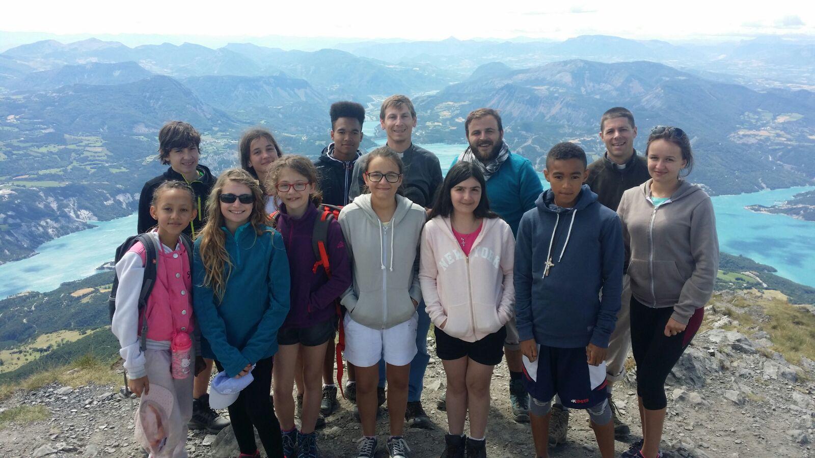Eté 2017 _ Camp montagne (Au Sommet du P