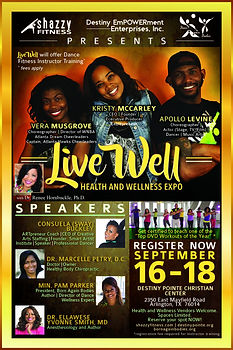 Join Born Again Bodies at the Live Well Expo - Pam Parker, BAB Founder will be a speaker at the conference.