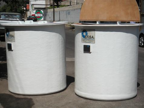 Tanque 1,500 litros EFISA