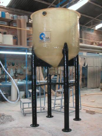 Reactor 2,000 litros EFISA