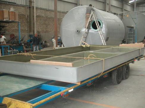 Tanques de recepción de derrames EFISA