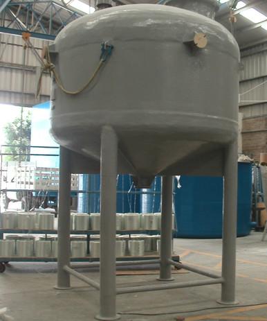 Reactor 7,500 litros EFISA