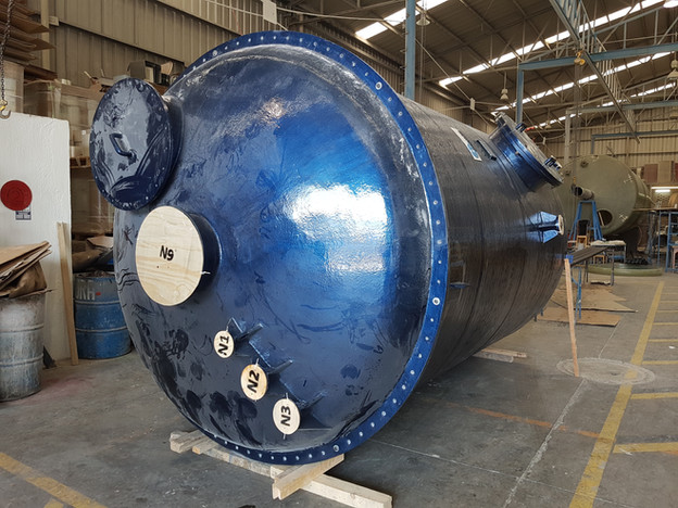 Reactor 16,000 litros EFISA