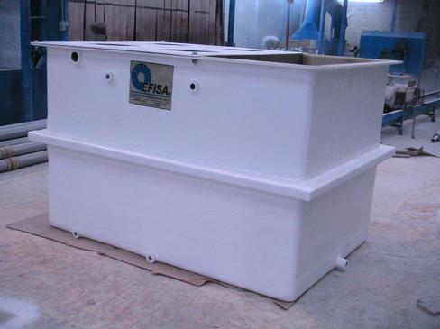 Tanque de electro floculación de 3 m EFISA