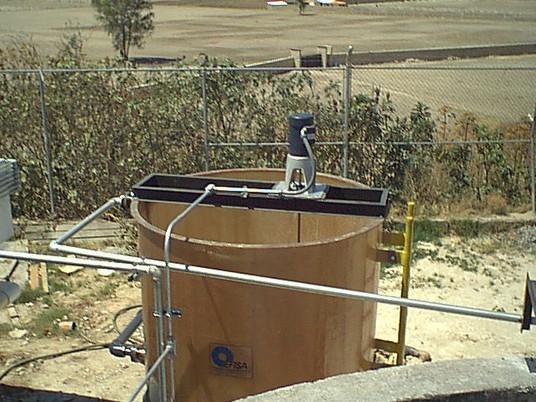 Reactor 5,000 litros EFISA