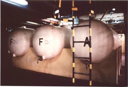 Tanques horizontales 10,000 litros EFISA
