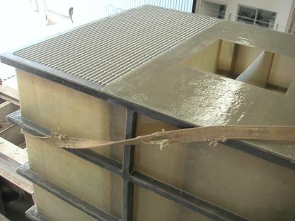 Tanque de sedimentación de 25 m³ EFISA