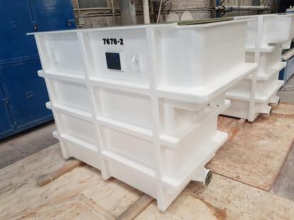 Tina de proceso 2,000 litros EFISA