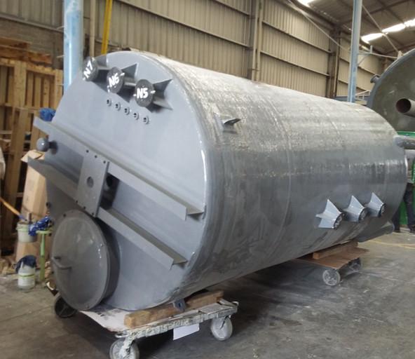 Reactor 10,000 litros EFISA