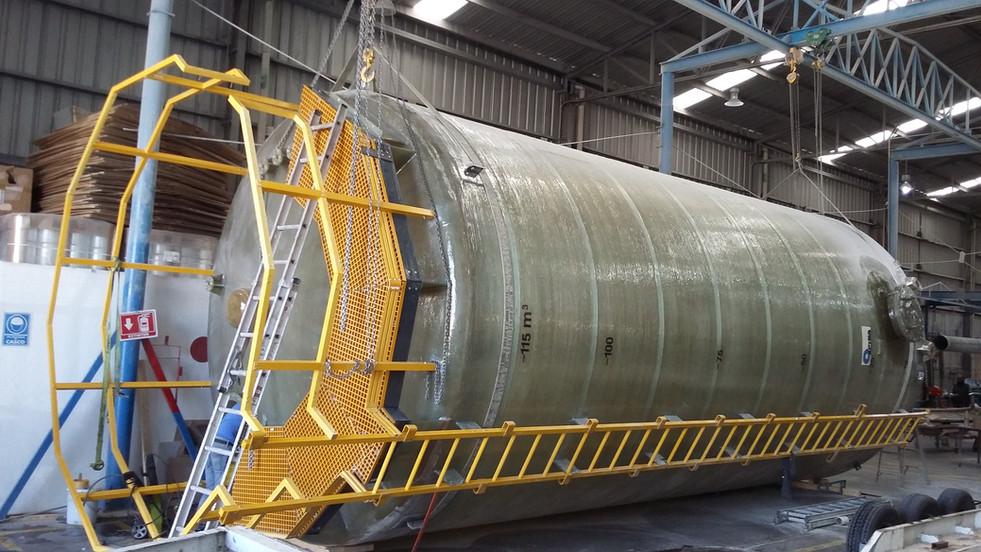 Tanque 125,000 litros EFISA
