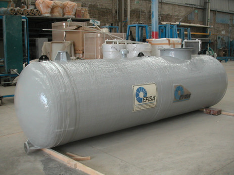 Tanque horizontal 5,000 litros EFISA